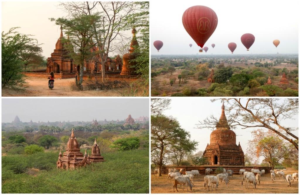 4 weken myanmar route