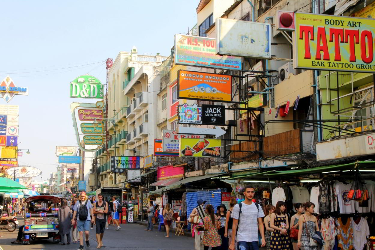 hostels bij khao san road