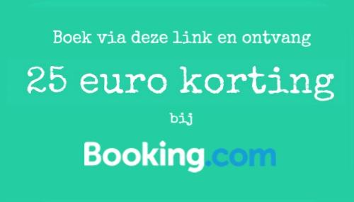 kortingscode booking.com 25 euro