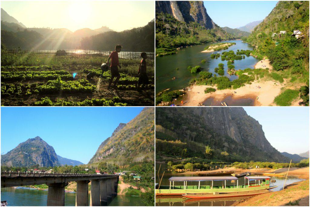 Noord-Laos Nong Khiaw