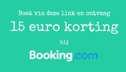 kortingscode booking.com