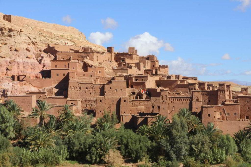 ait ben haddou atlasgebergte marokko