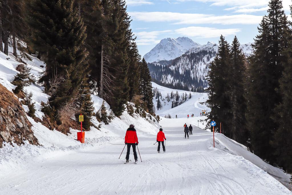 Eerste keer skien