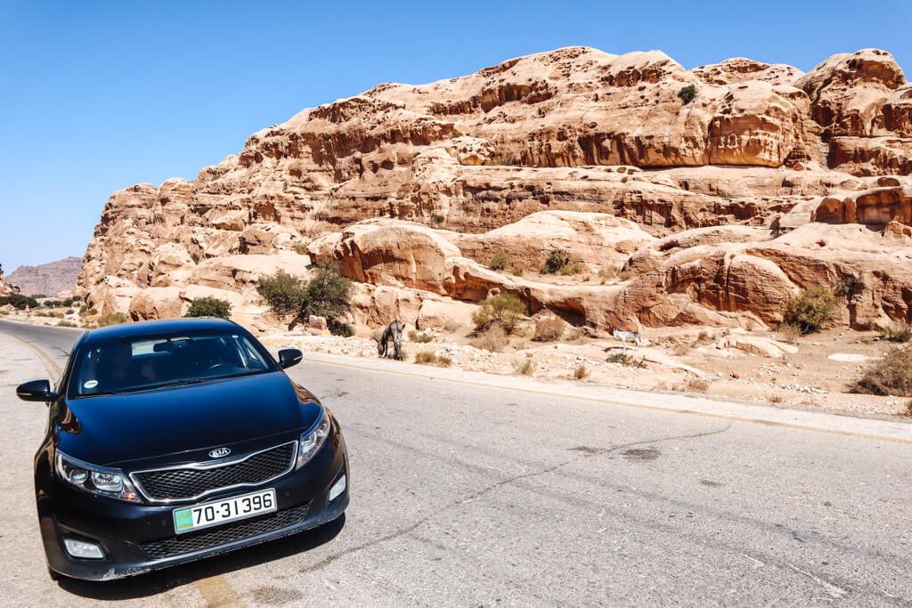 auto huren amman jordanie