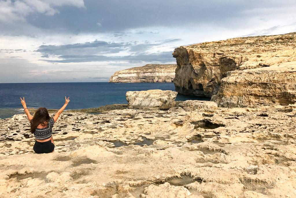 Azure window Malta Gozo ingestort