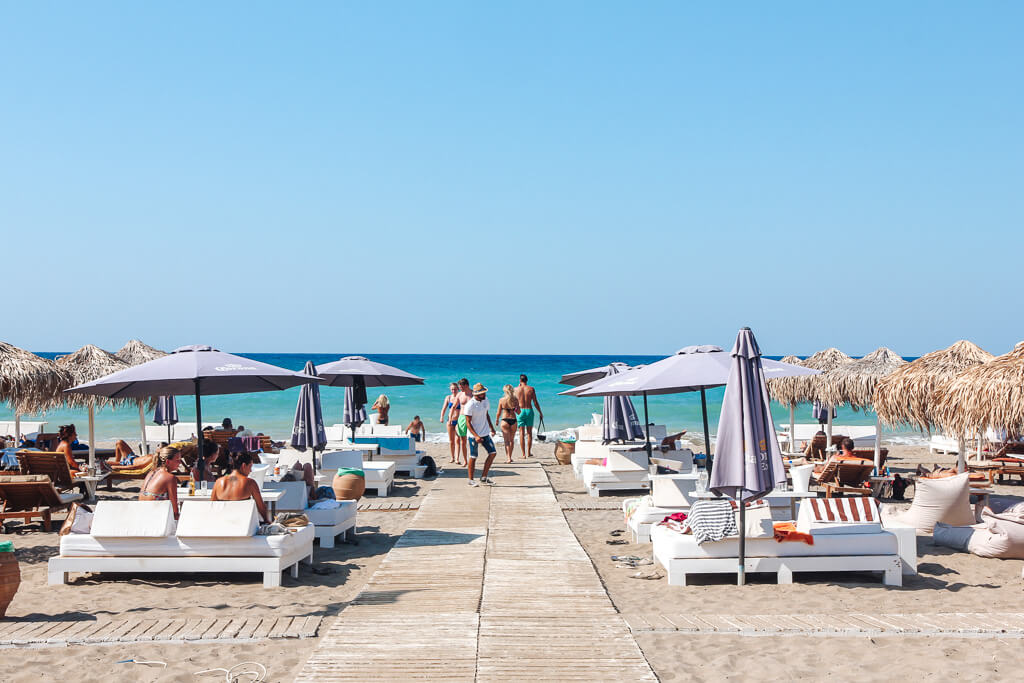 Baja beach club kreta