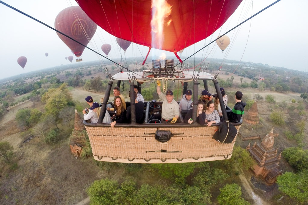 ballonvaart myanmar bagan