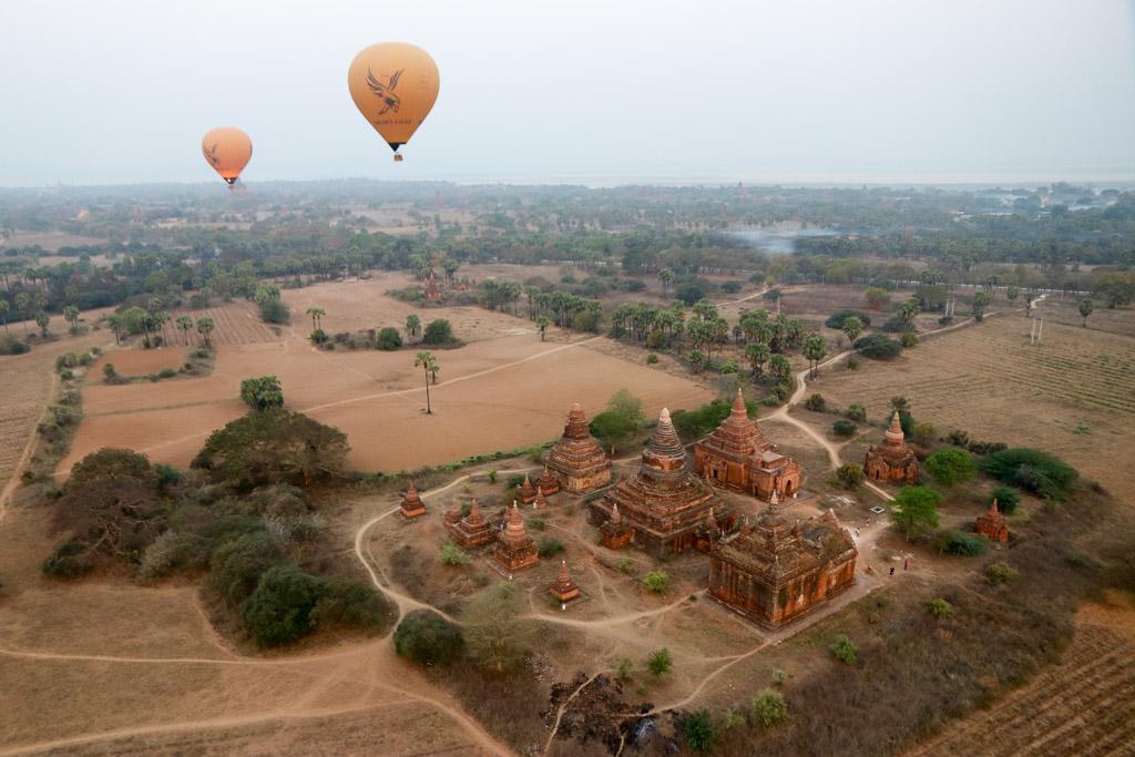 ballonvaart over bagan ervaringen