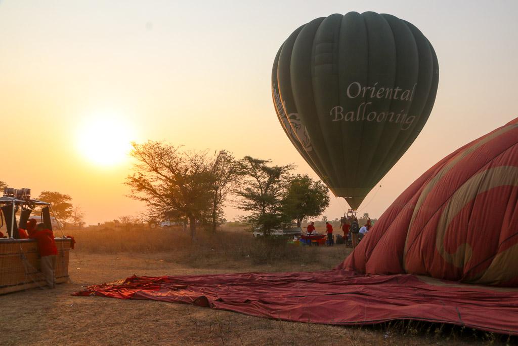 ballonvaart over bagan