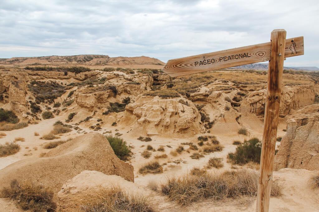 bardenas reales woestijn spanje
