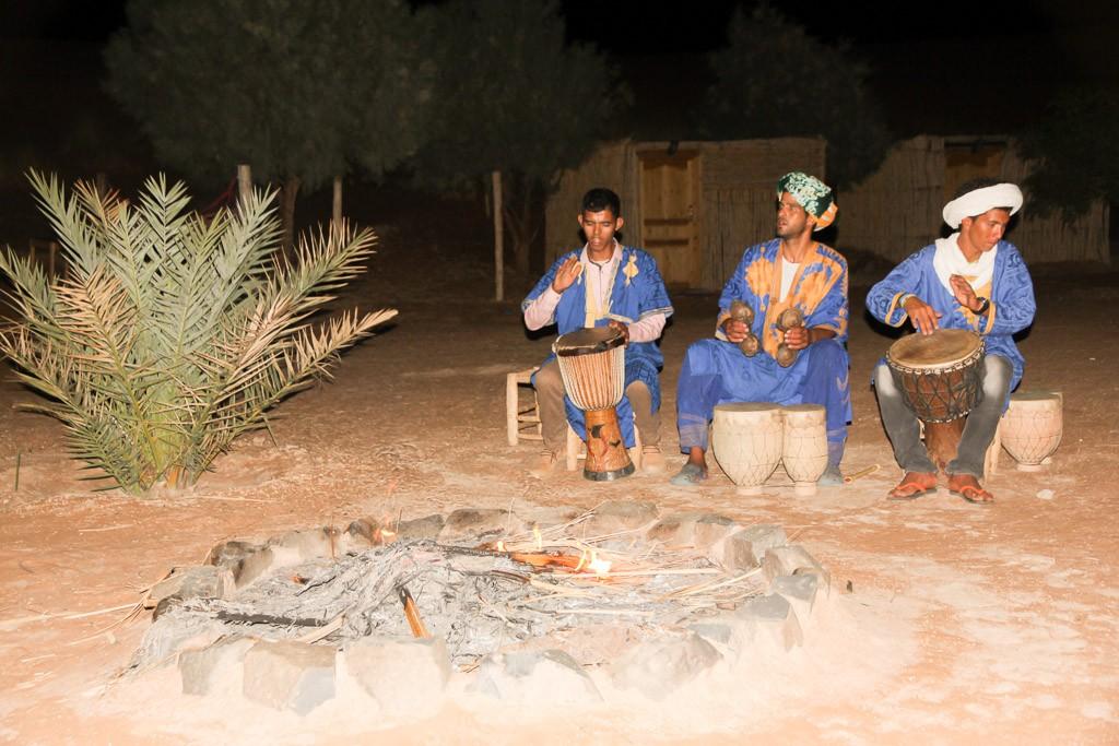 berber kamp marokko