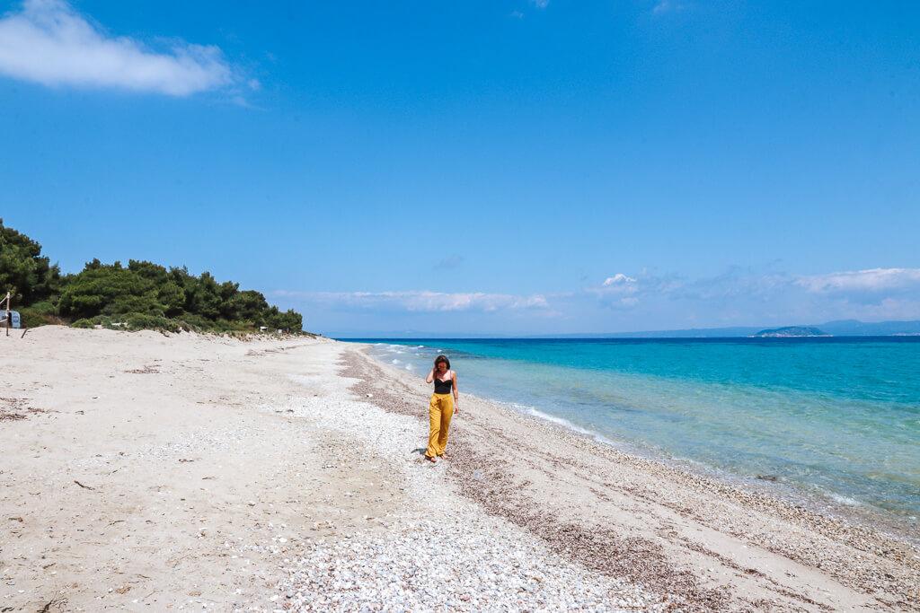 beste stranden chalkidiki kassandra