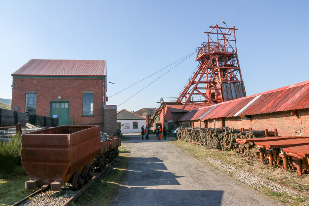 Big pit wales kolenmijn