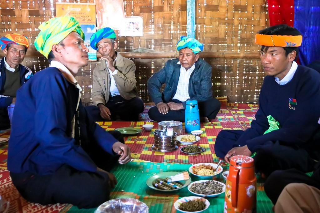 Bruiloft Myanmar