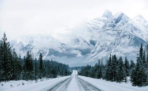 canada in de winter