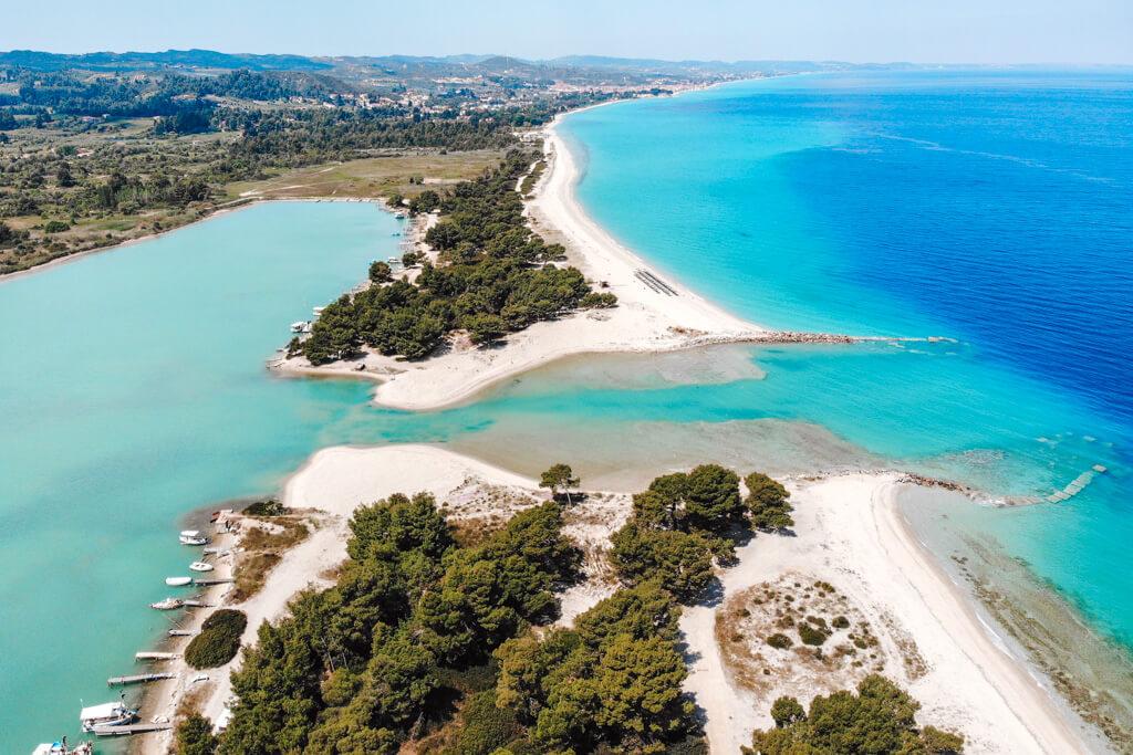 mooiste stranden van kassandra chalkidiki