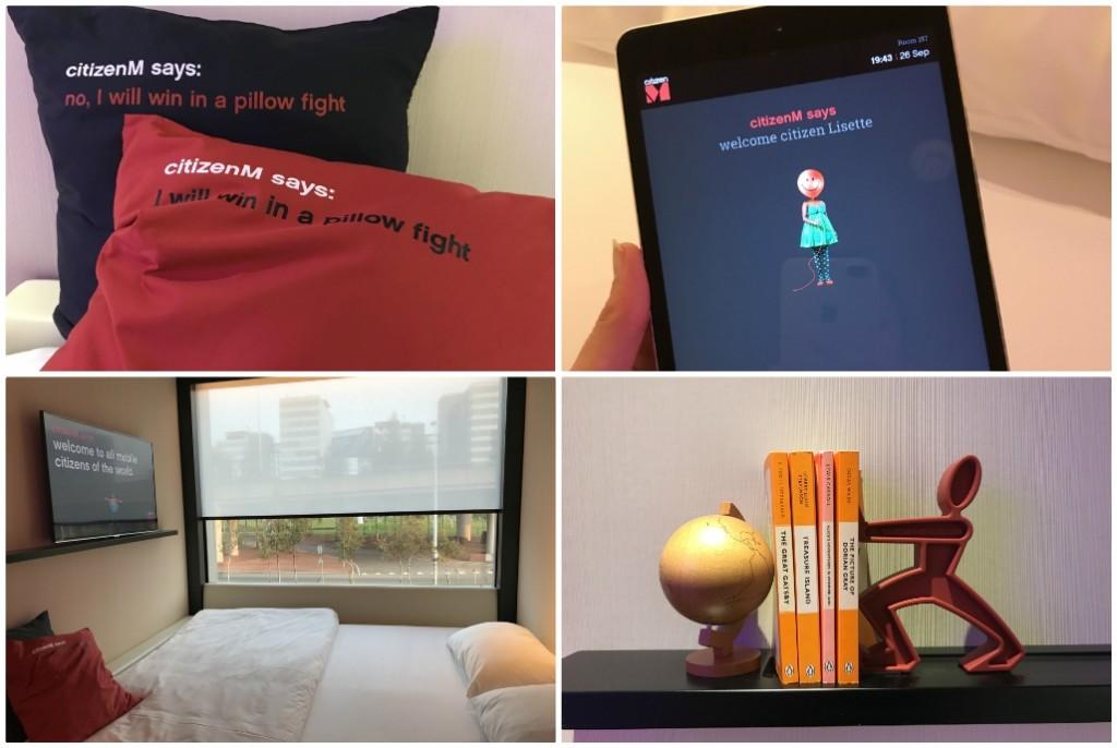 citizenm hotel op schiphol ervaring