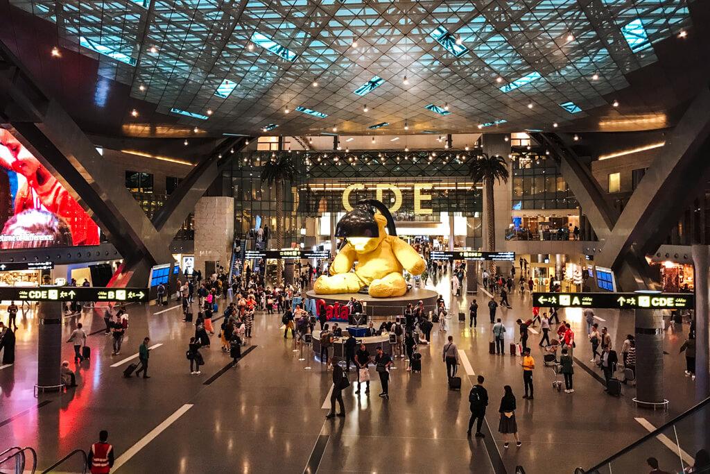 doha luchthaven qatar