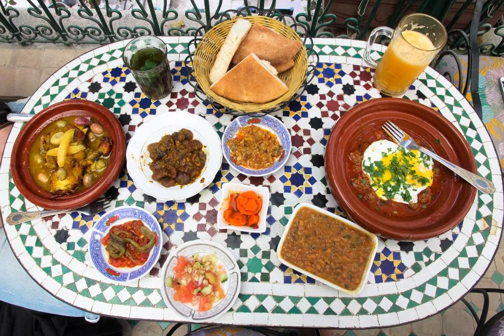 eten in marokko fez