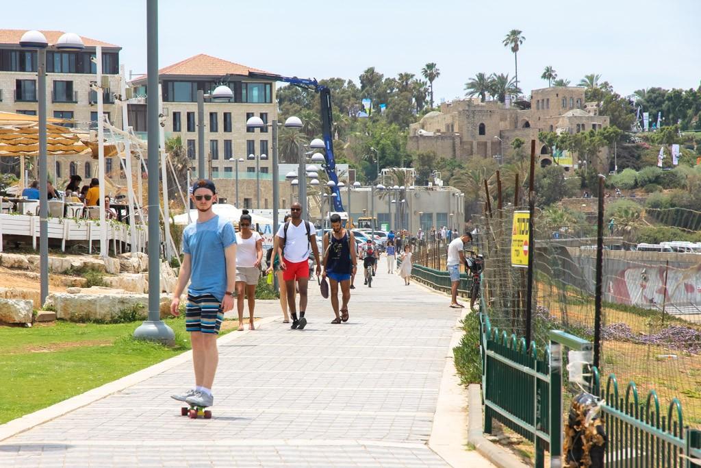 doen in Tel Aviv fiets huren
