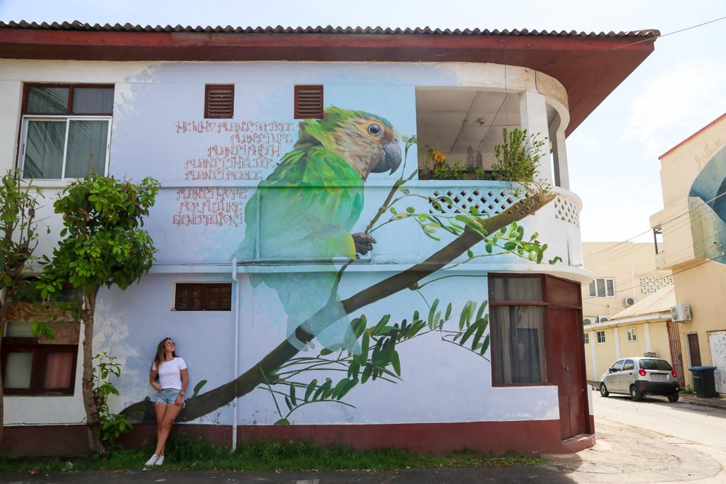 Graffiti aruba san nicolas
