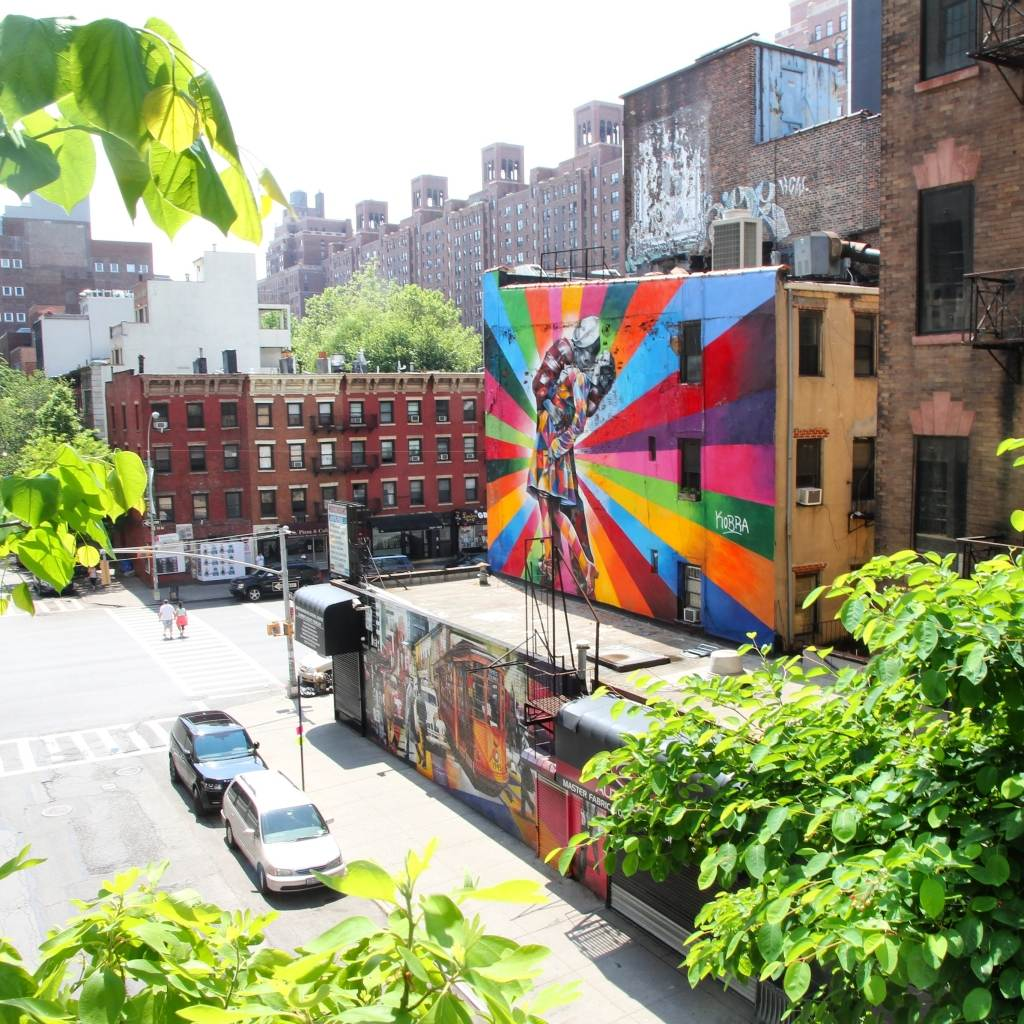 Graffiti High Line