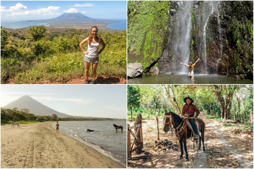isla de ometepe nicaragua route