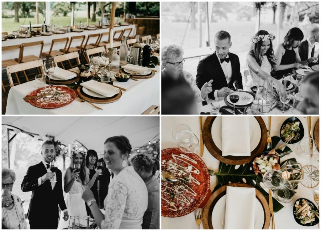 italiaans diner bruiloft slot doddendael