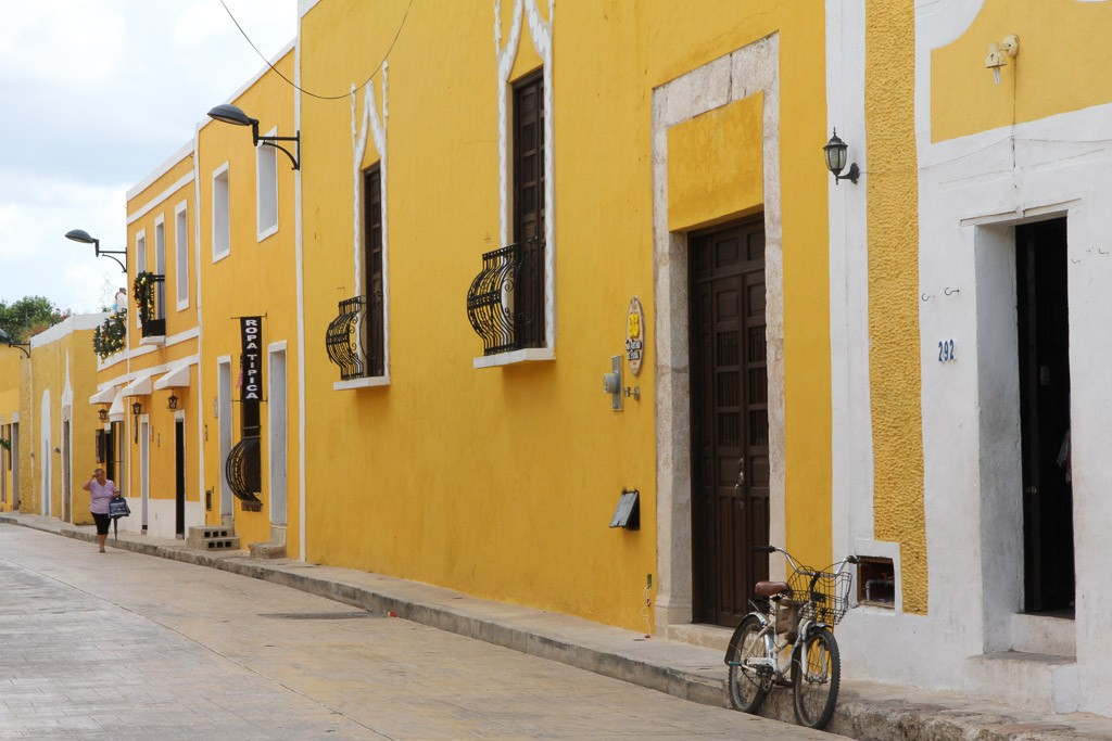 Yucatan backpack route