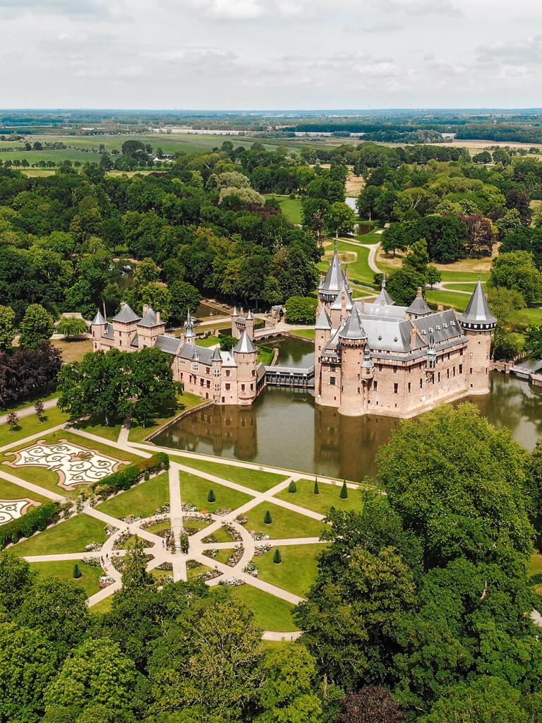 kasteel de haar bezoeken