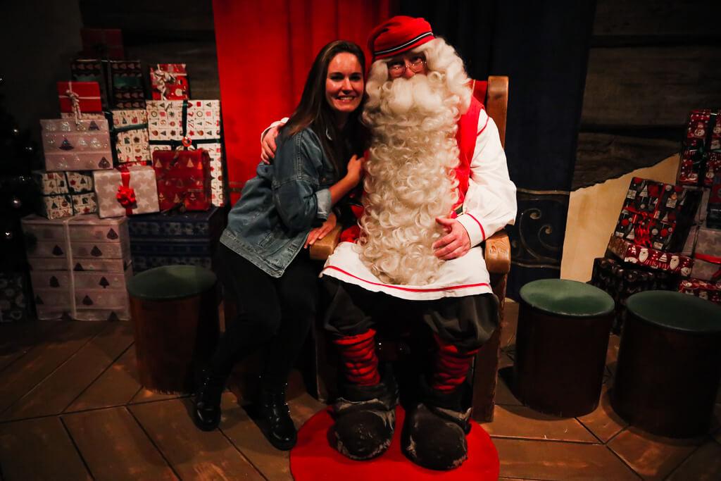 kerstman bezoeken fins lapland