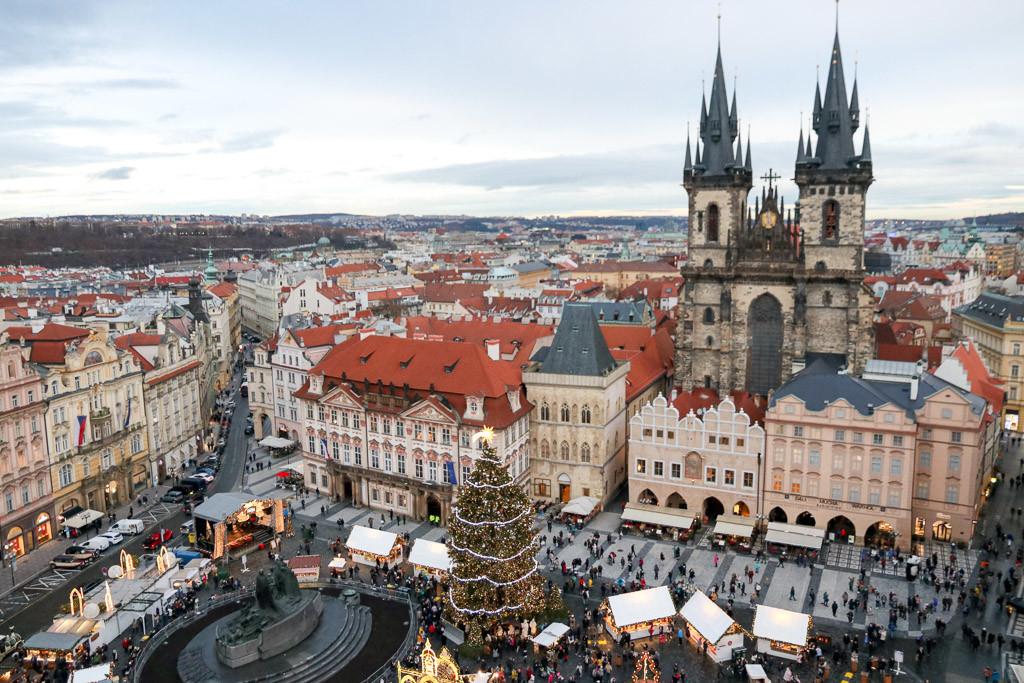 kerstmarkten praag