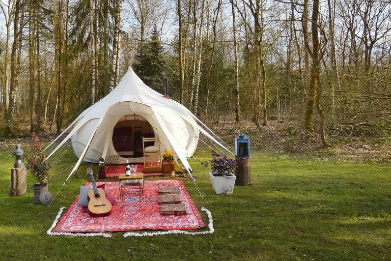 bijzonder kamperen in nederland