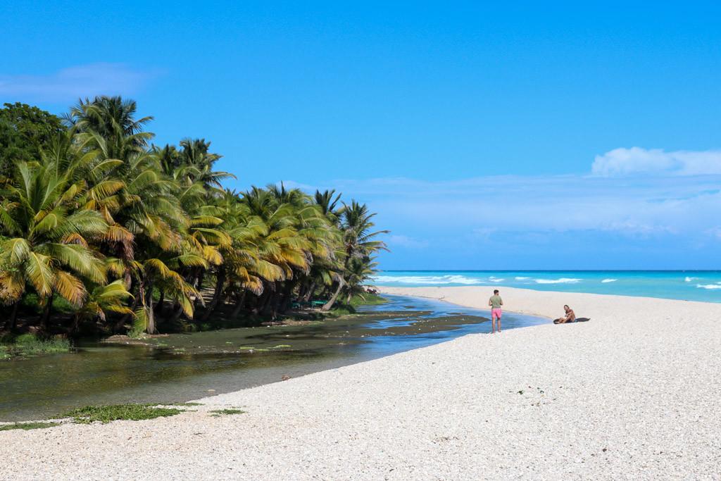los patos dominicaanse republiek strand