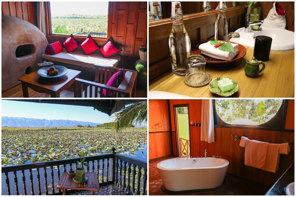 luxe hotel myanmar inle lake