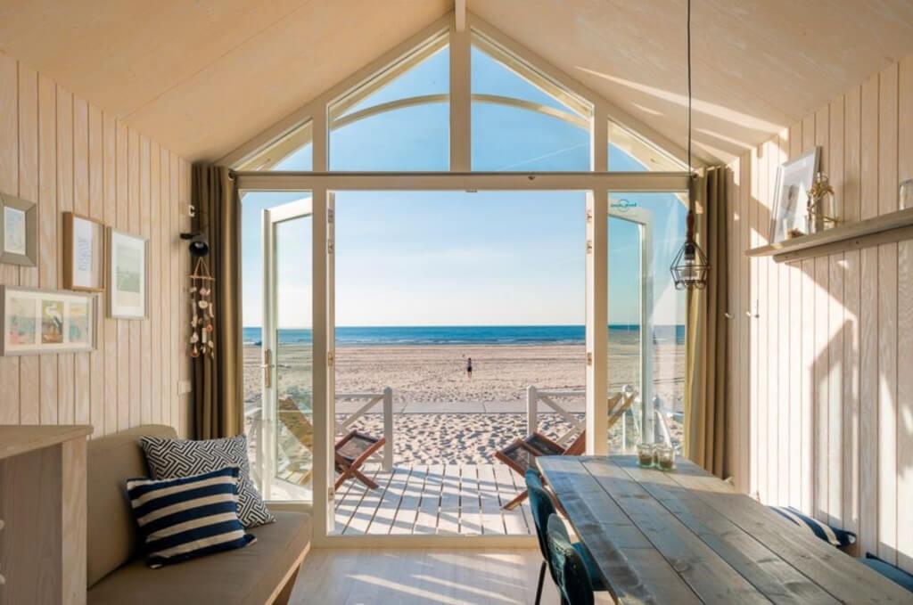 luxe vakantiehuisjes aan zee nederland