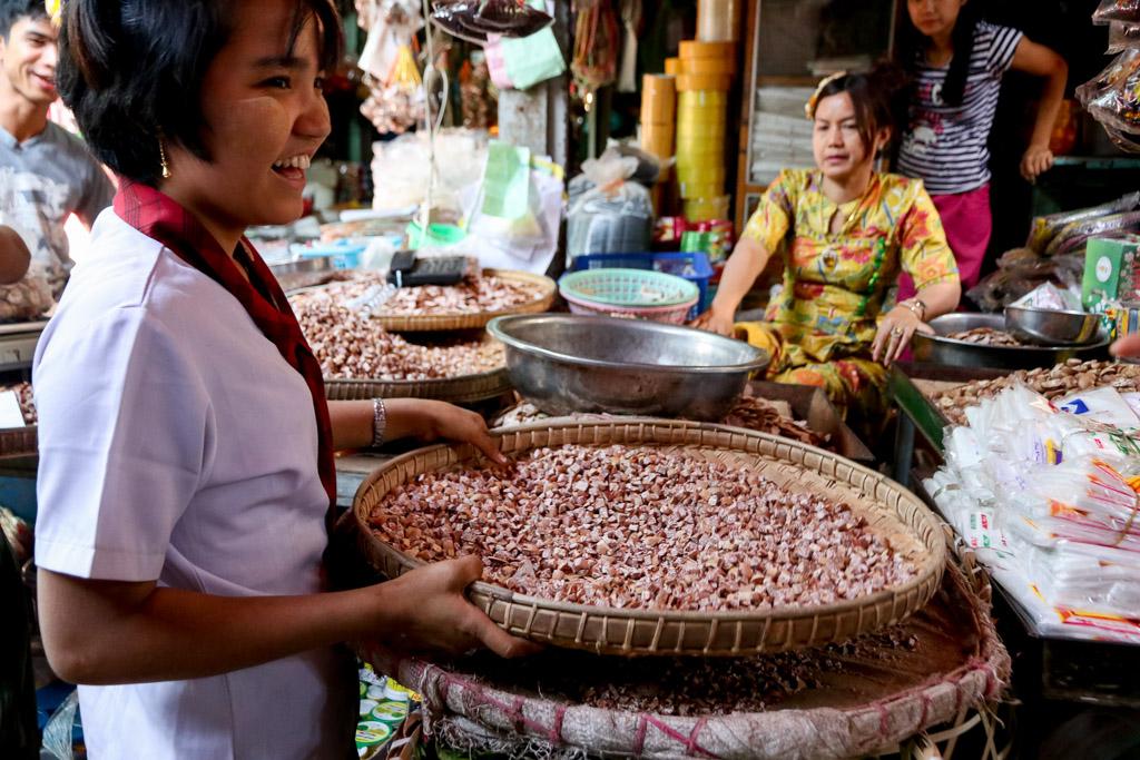 markten myanmar dingen om te doen