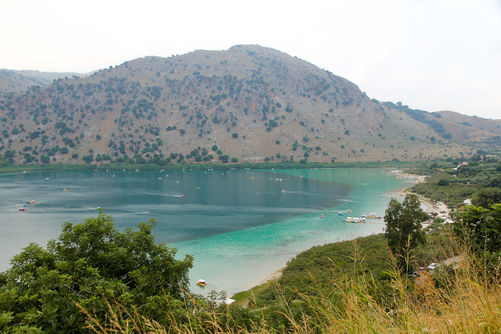 Meer Kournas Kreta
