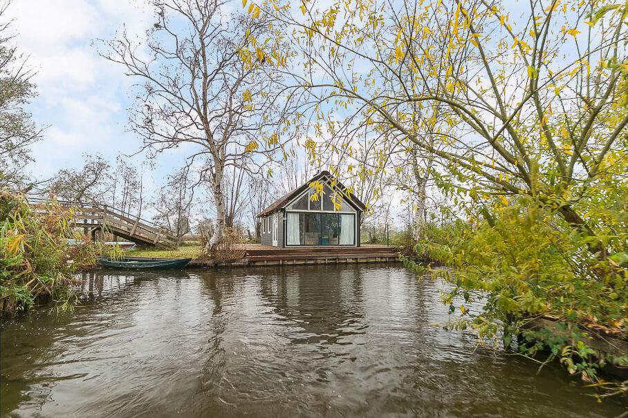 mooiste natuurhuisjes in Nederland