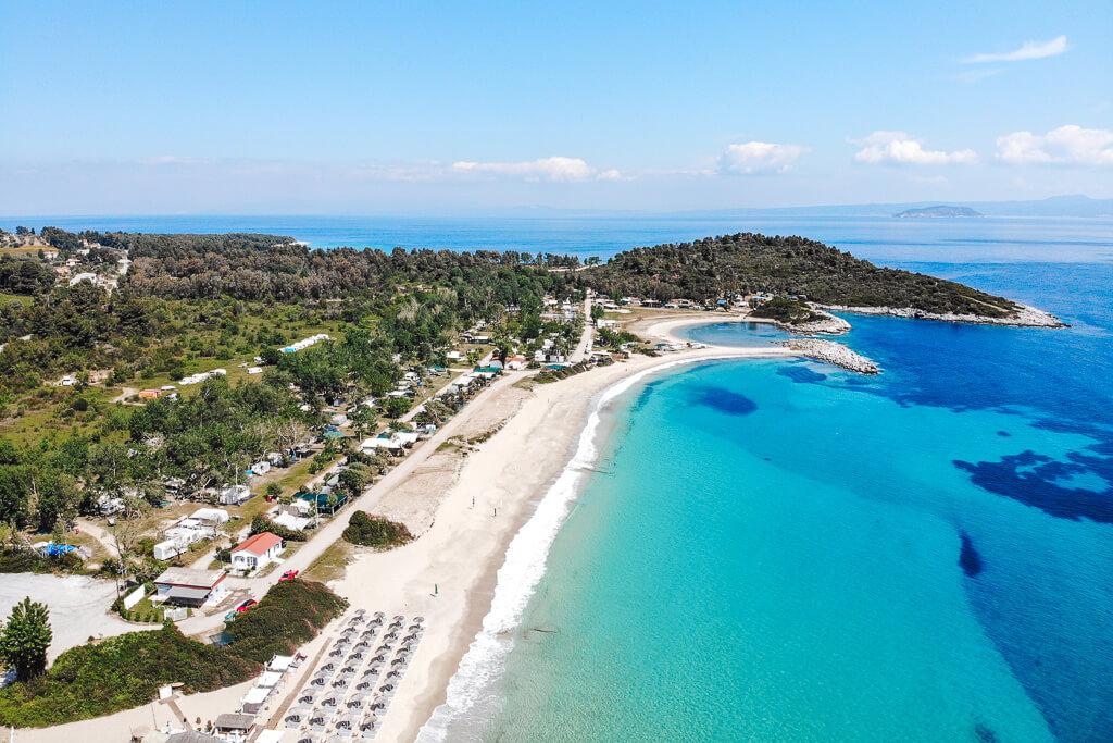mooiste stranden van chalkidiki