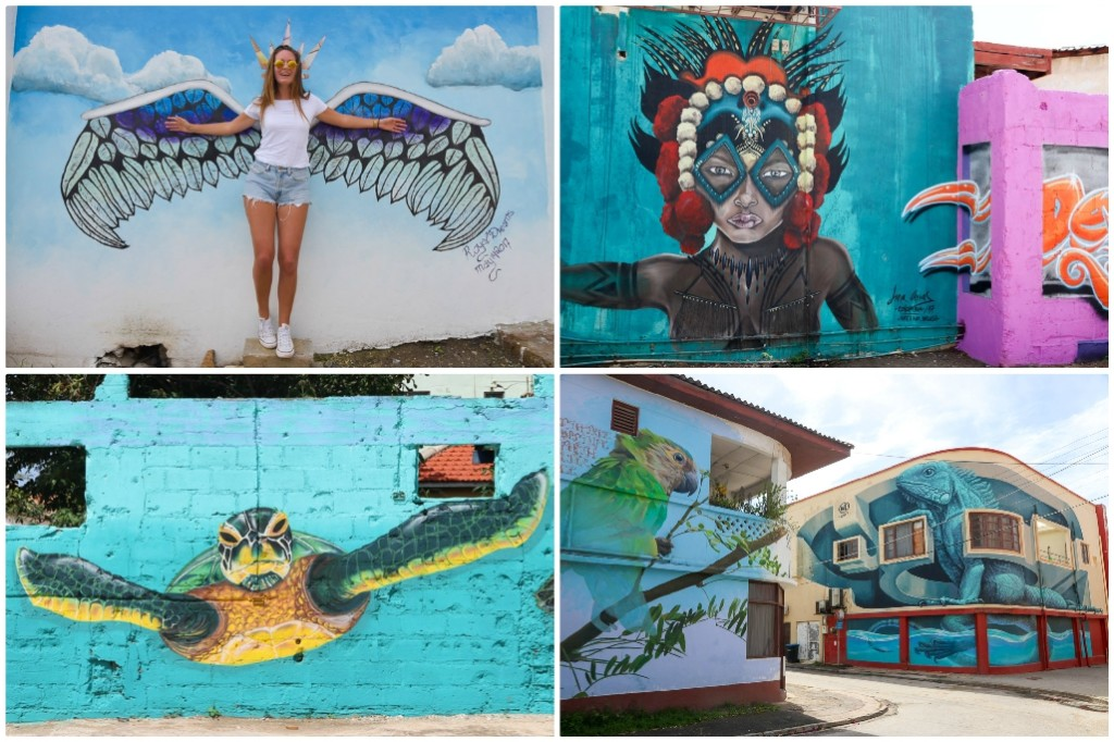 street art aruba