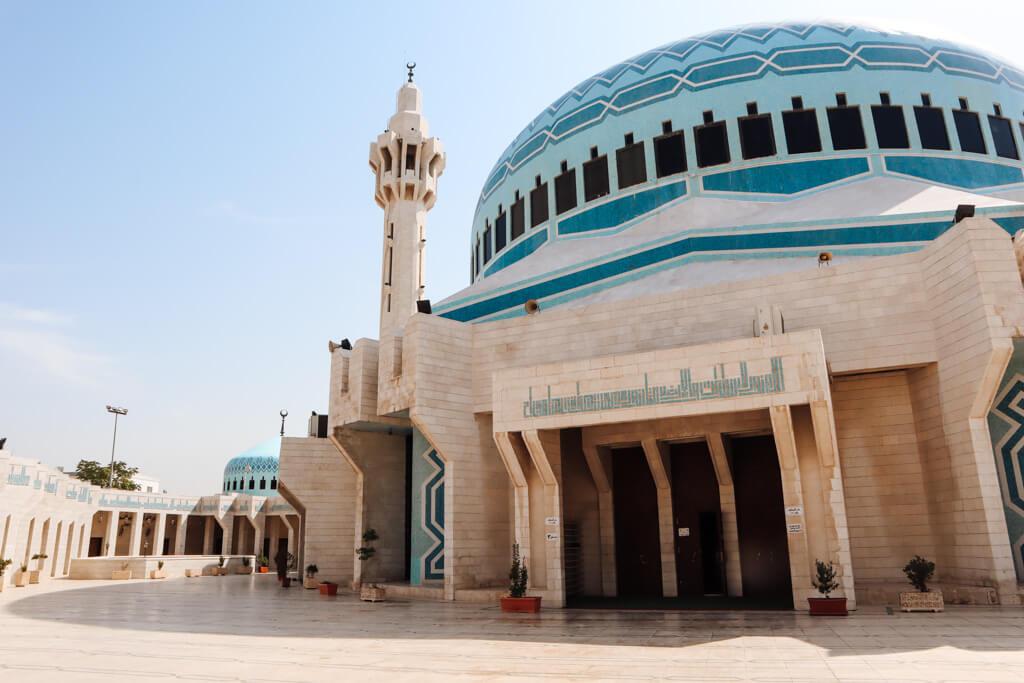 moskee amman jordanie