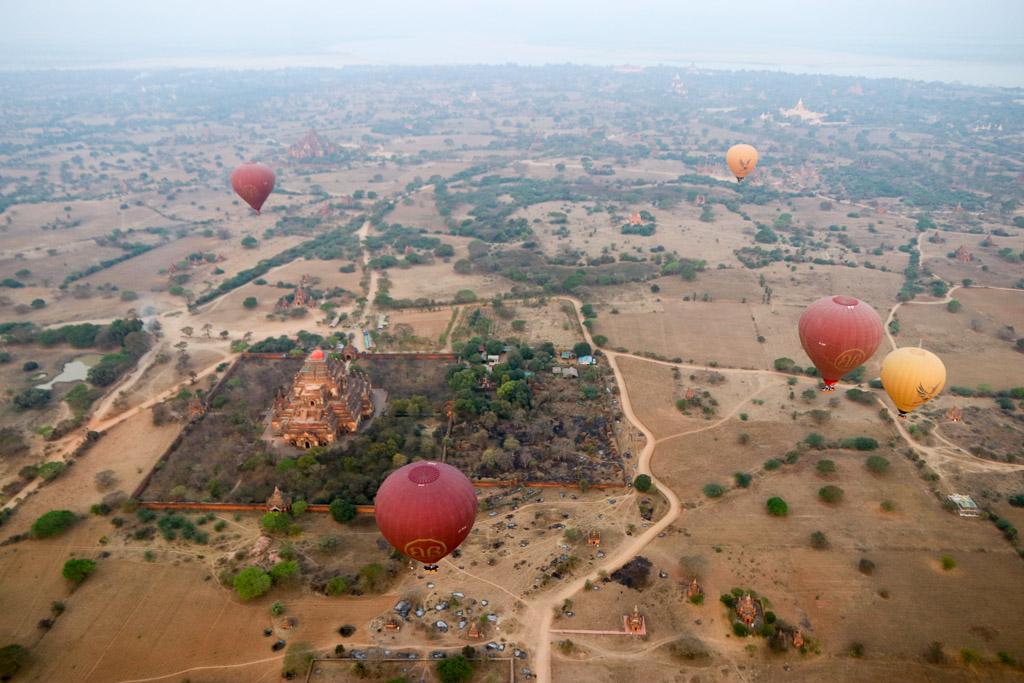 Myanmar luchtballon bagan