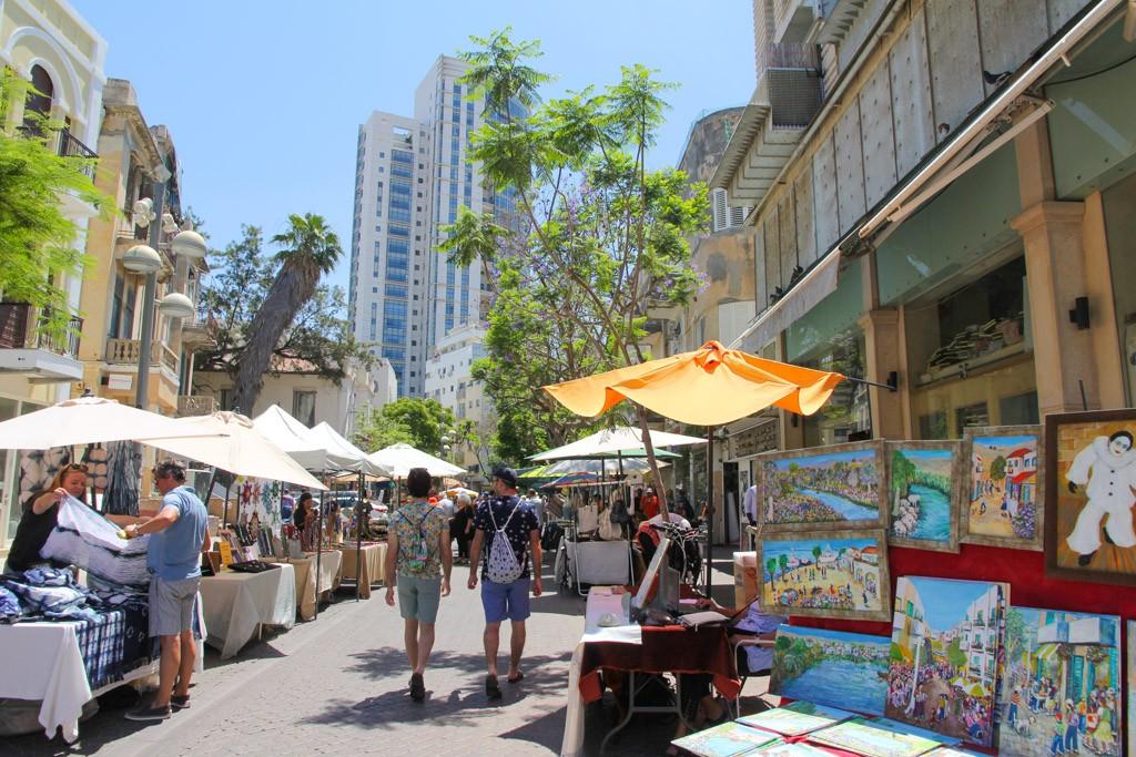 nahalat benyamin craft market Tel Aviv bezienswaardigheden