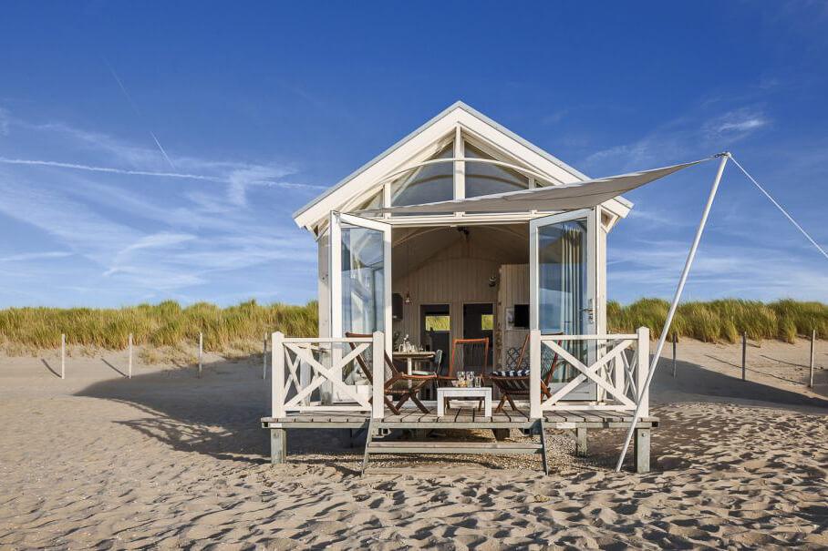 strandhuisje huren nederland