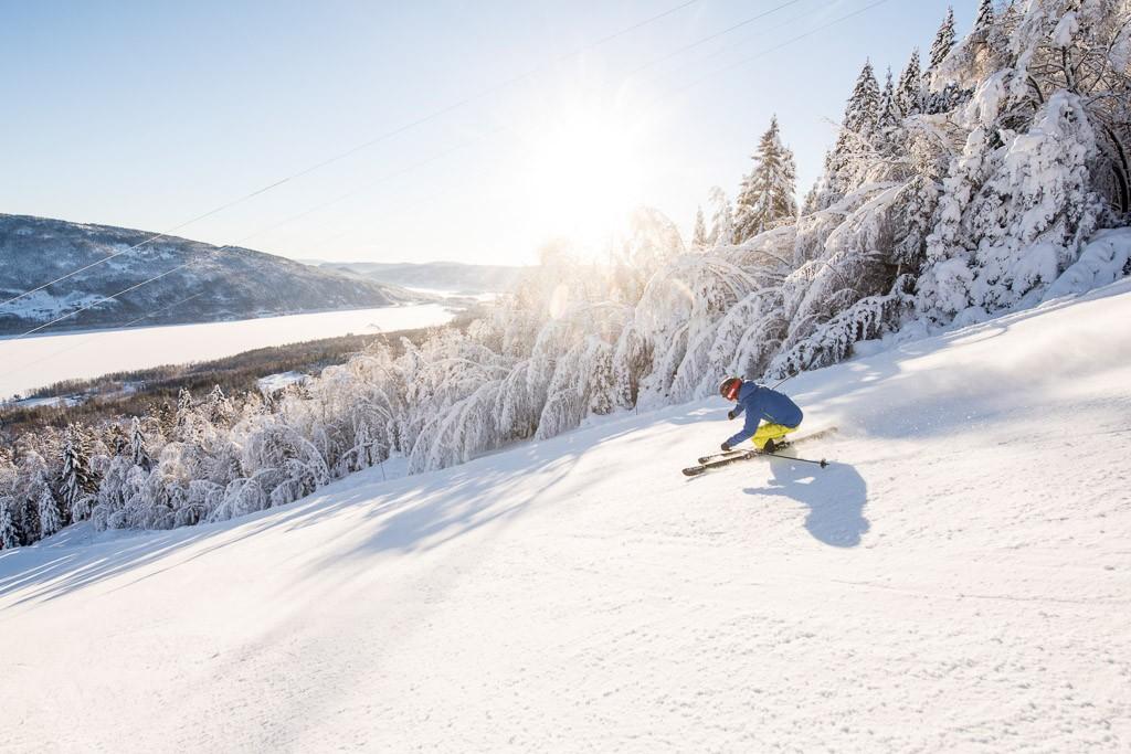 Wintersport in Noorwegen Norefjell