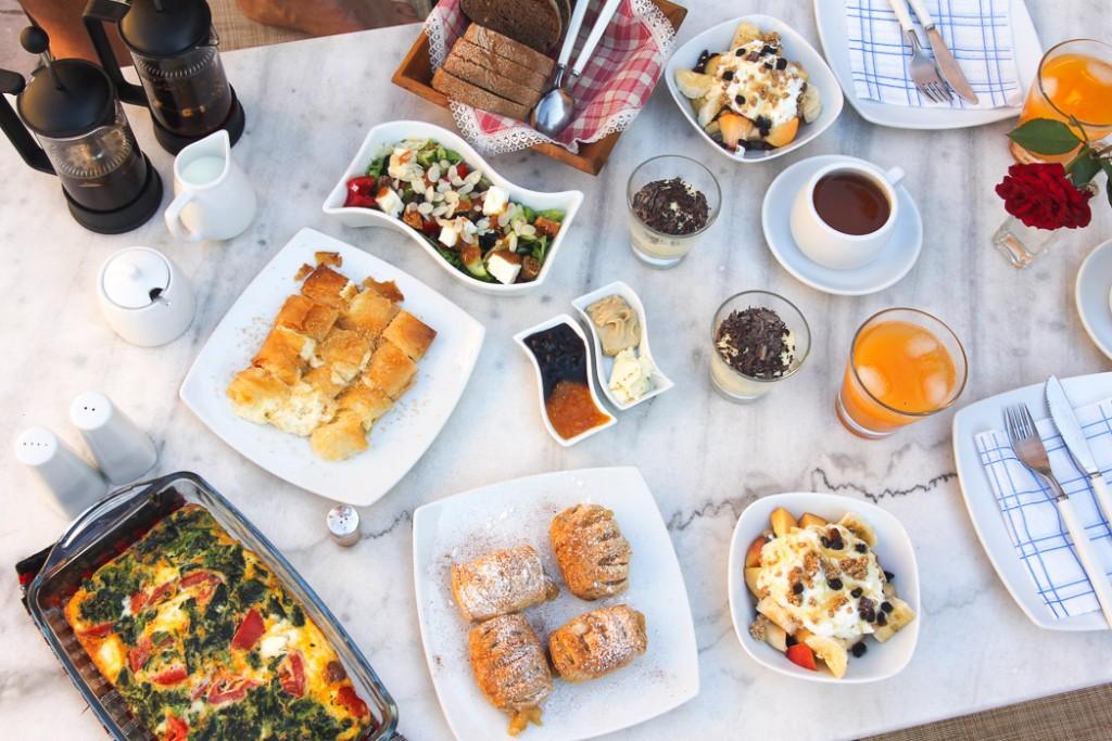 ontbijt samonas villas