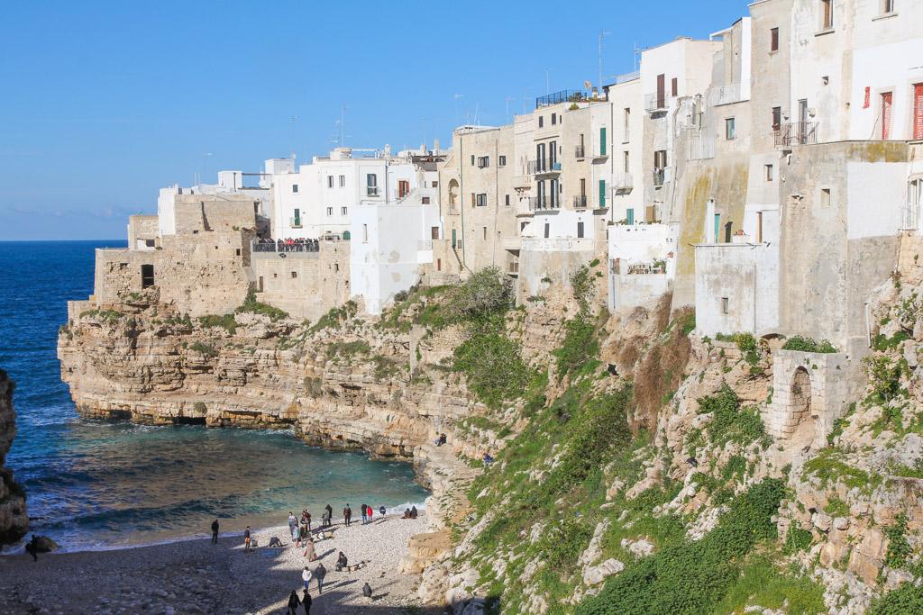 polignano a mare steden italie