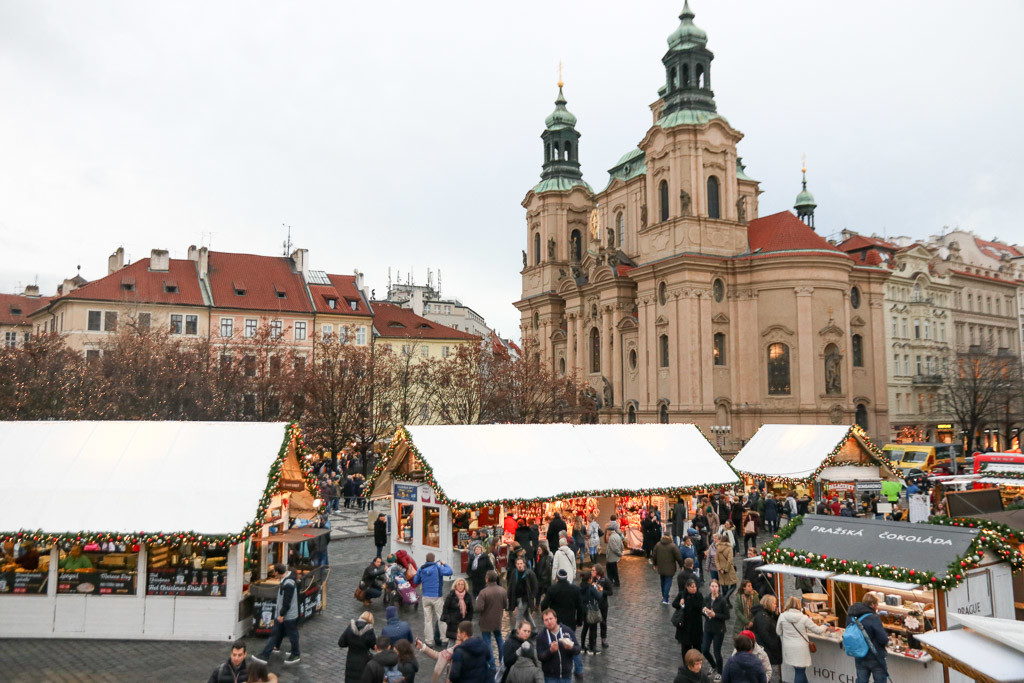 praag kerstmarkten