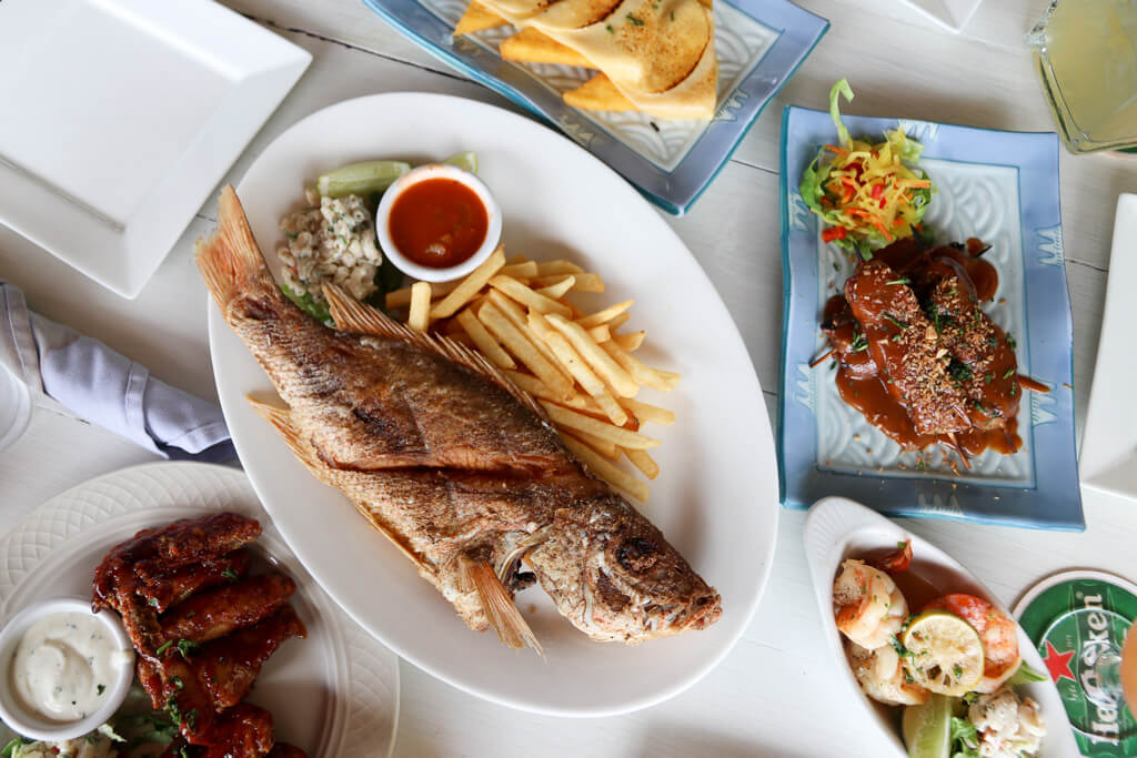 restaurants aruba